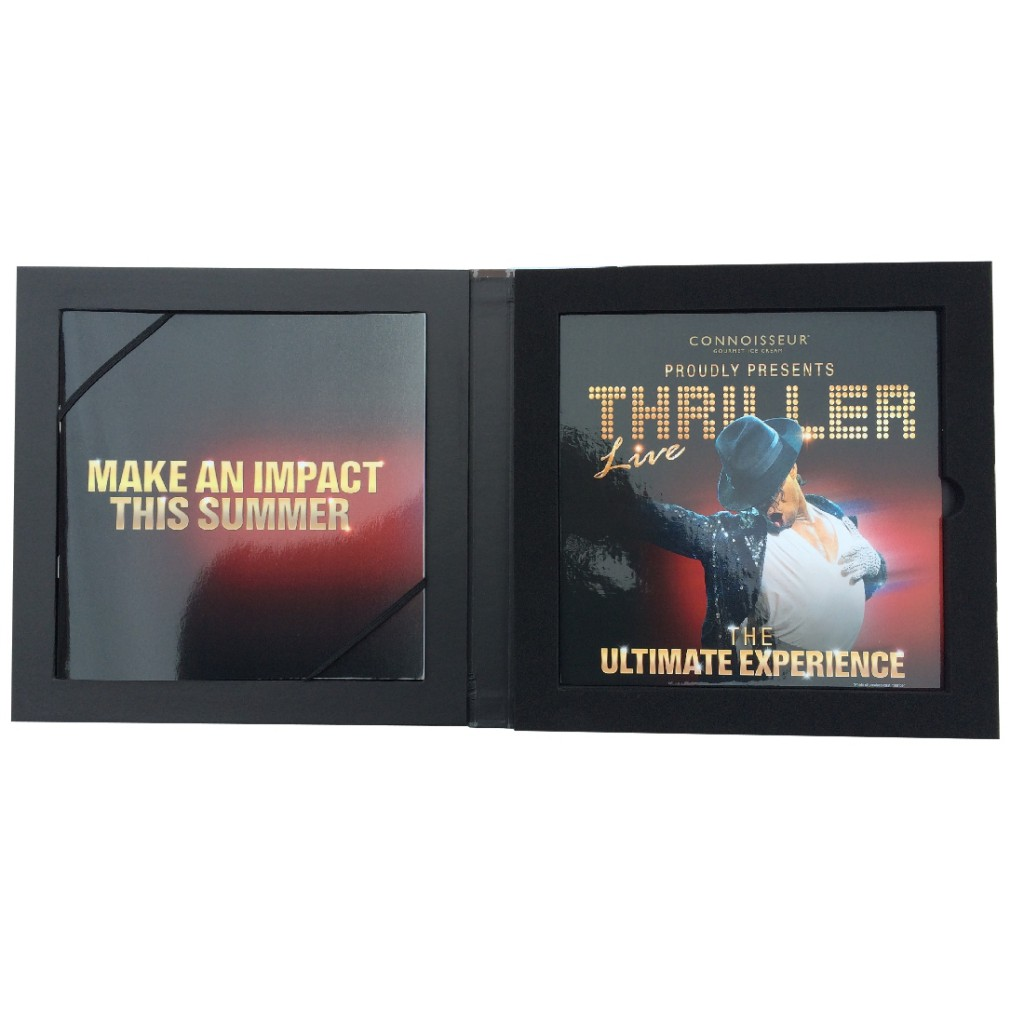 Custom CD Set Promo Box - Open