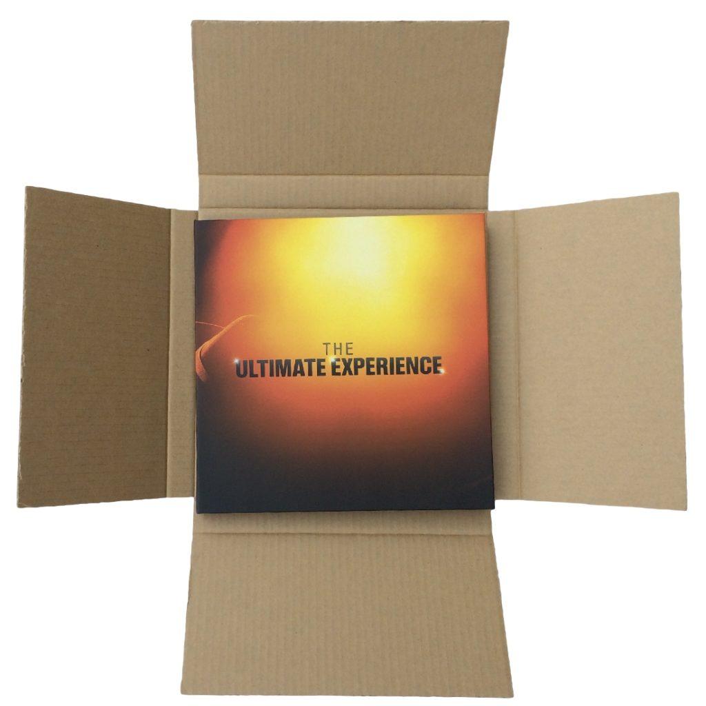 Custom CD Set Promo Box - Shown with Mailing Unit