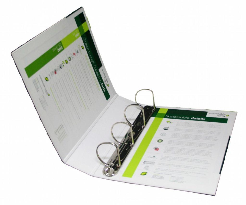 Custom Ring Binder Folder
