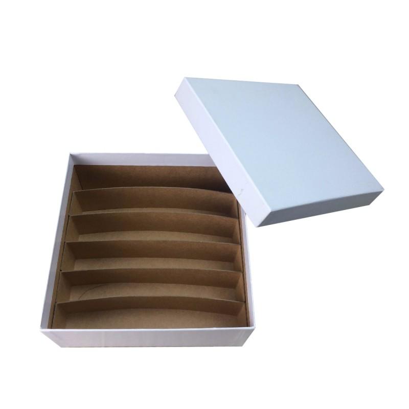 Histology Storage Box & Dividers- White