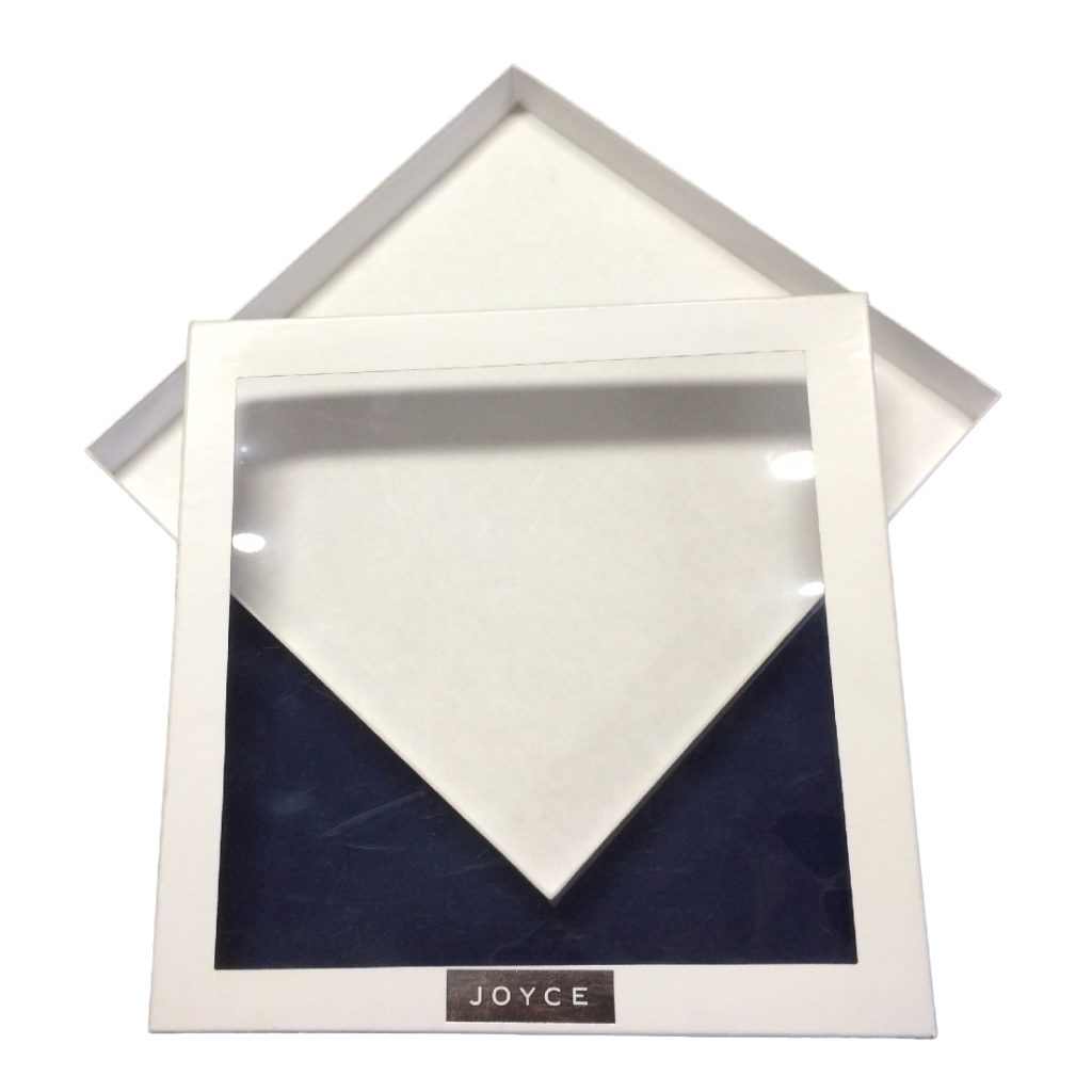 Scarf Box with Window