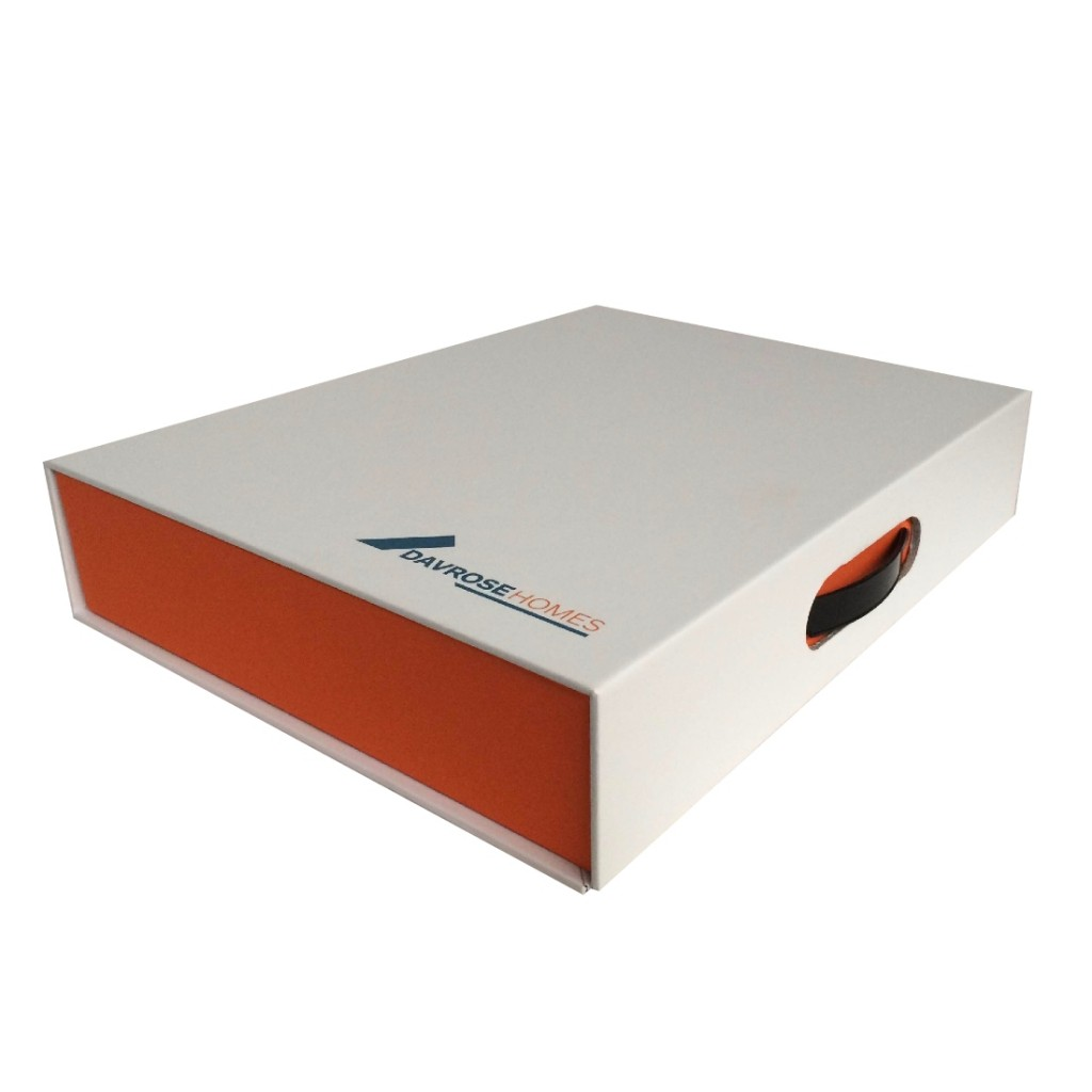 Custom Document Case Box Folder with ring binder