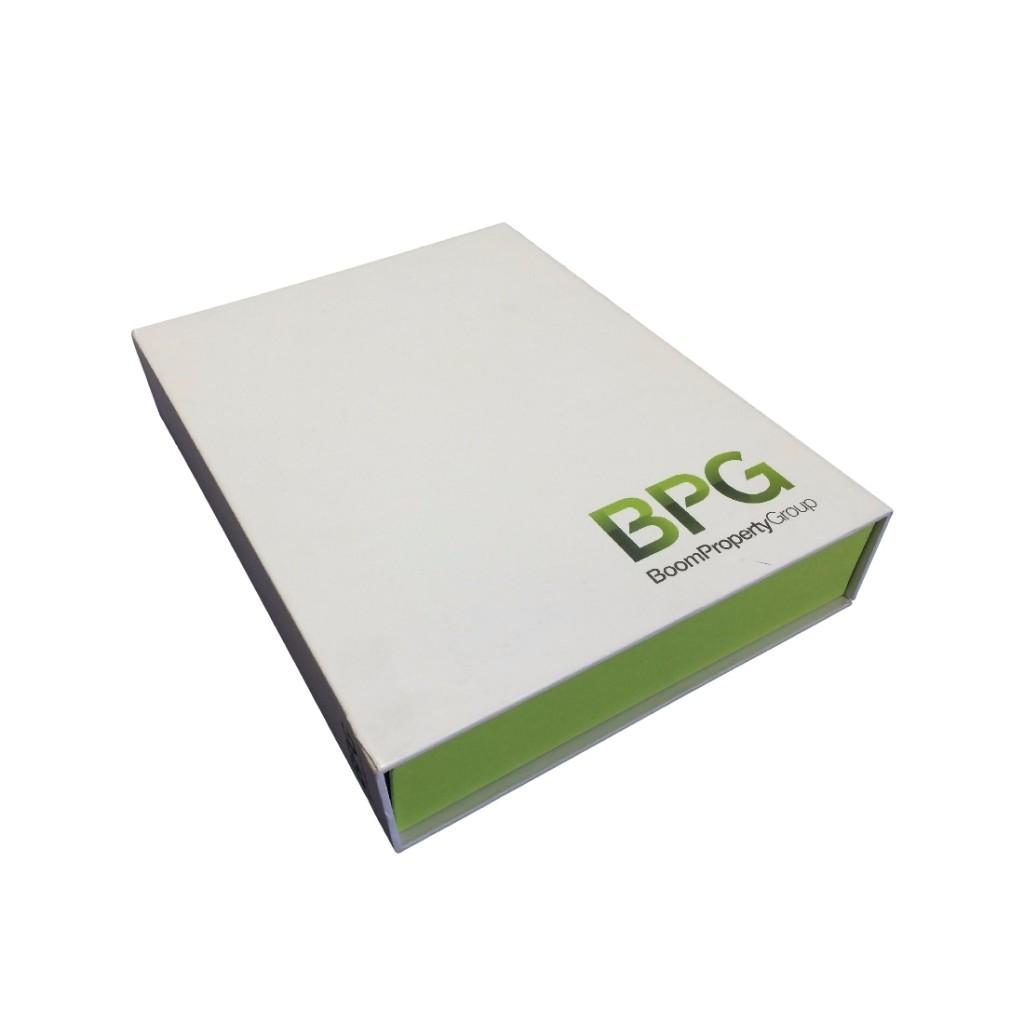 Custom Made Corporate Binder Box