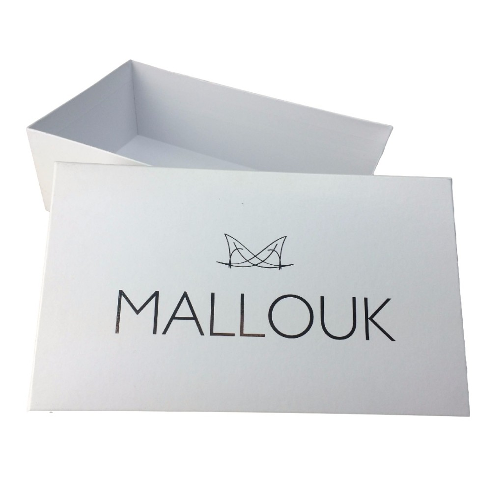 Custom Small White Gift Box