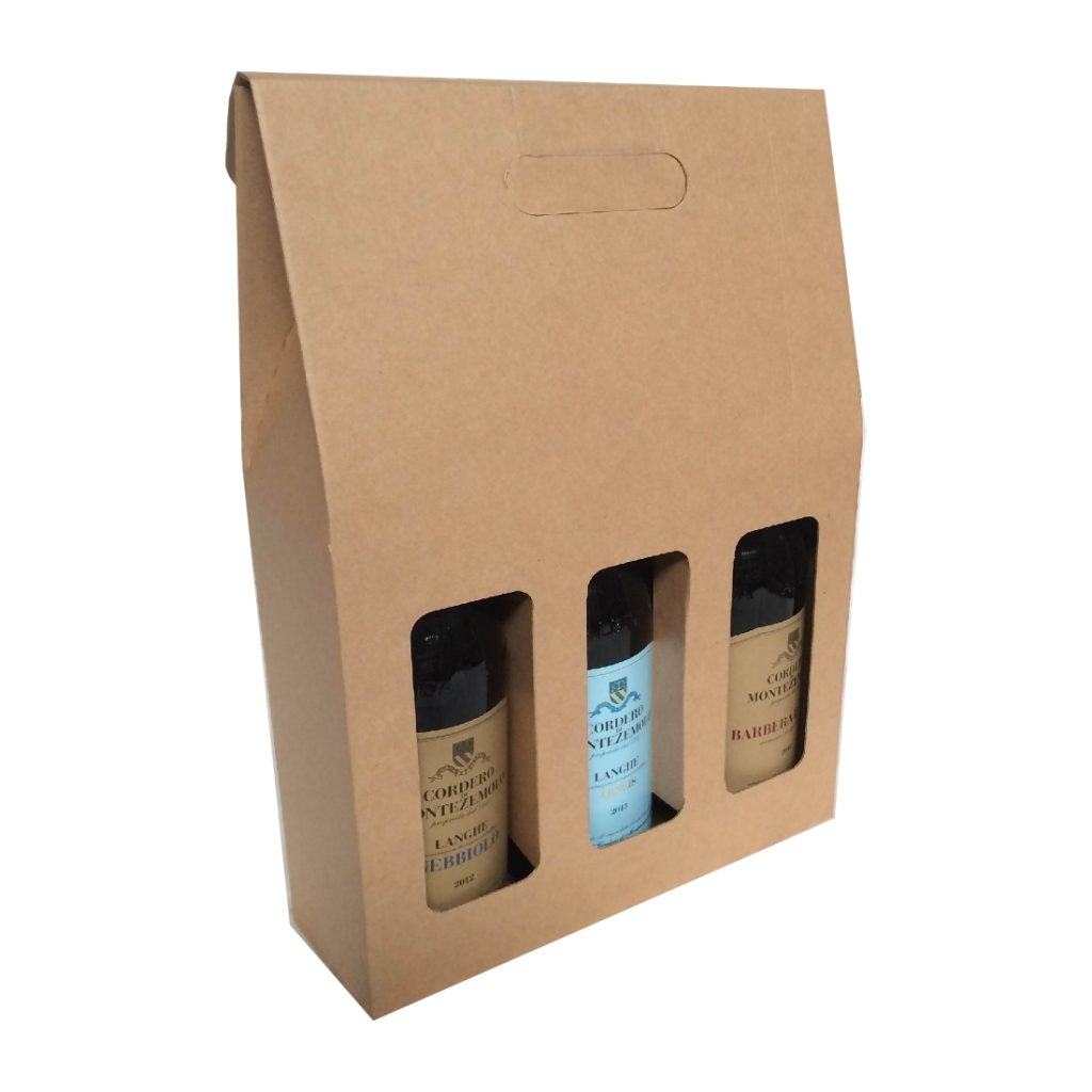 3 Bottle Wine Carry Pack
