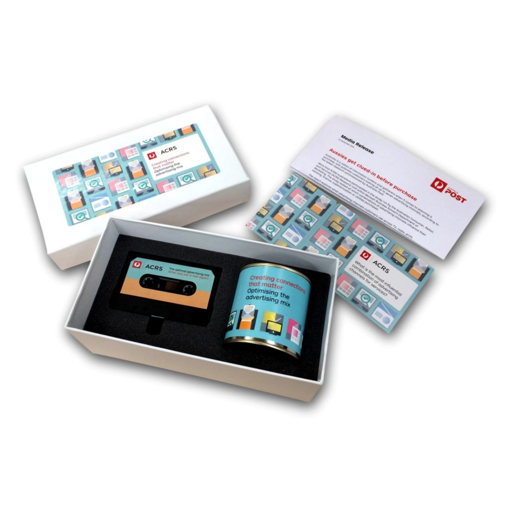 Custom Marketing Kit Box